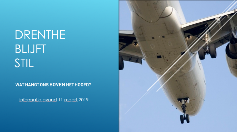Presentatie Drenthe Blijft Stil - 11 maart 2019